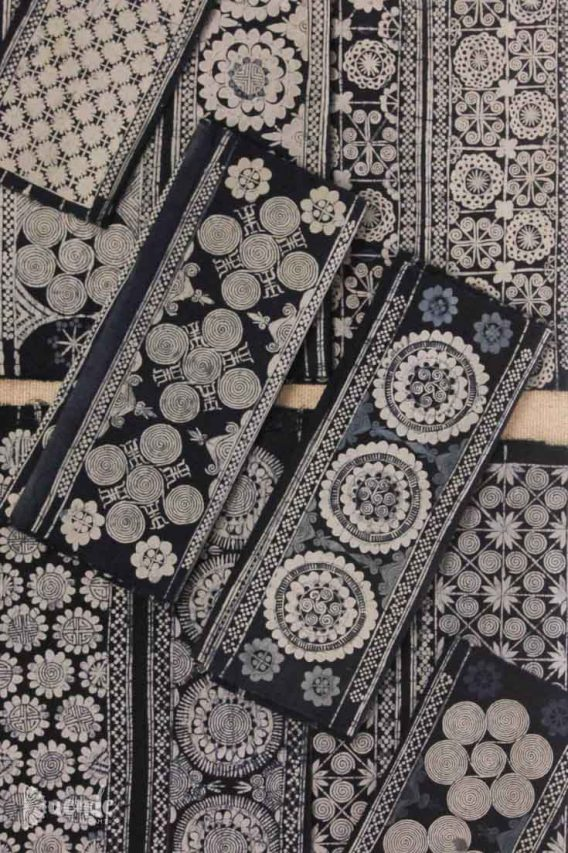 Indigo Batik made by the Miao people of China