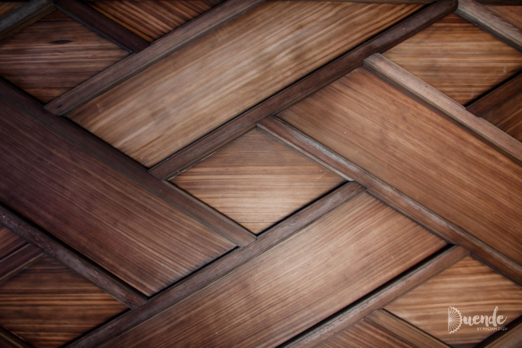 Wooden ceiling design, Japan