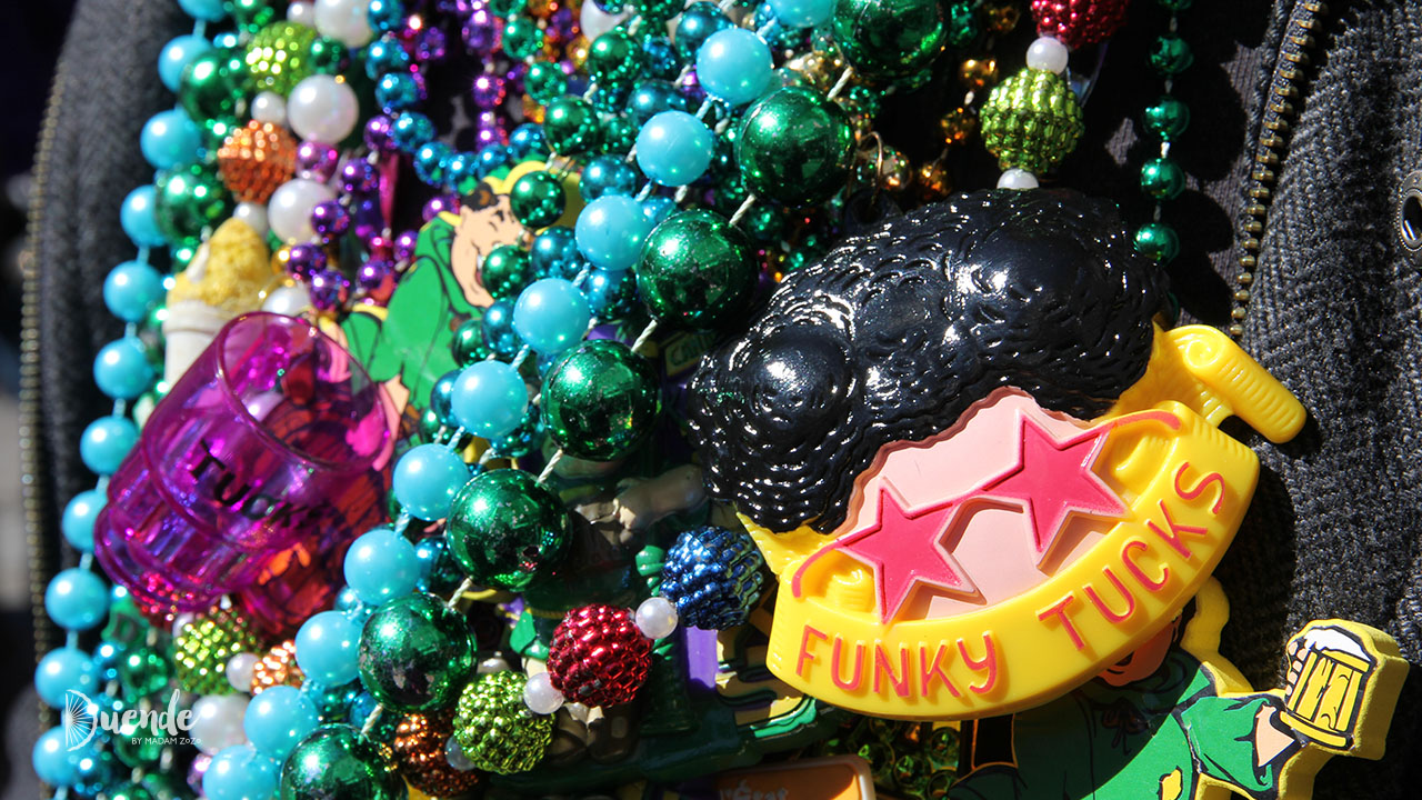 Mardi Gras beads, New Orleans