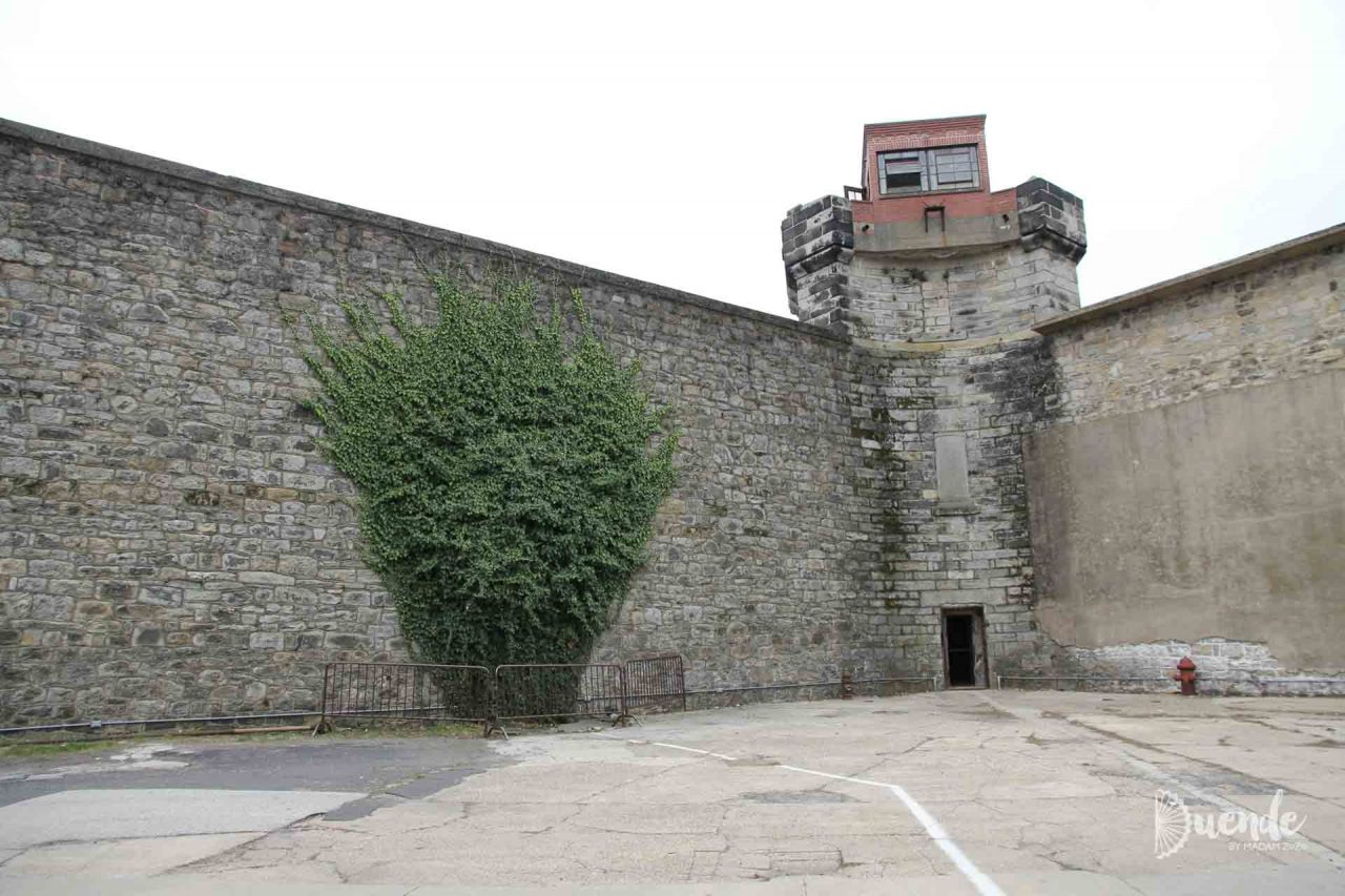 Eastern State Penitentiary courtyard