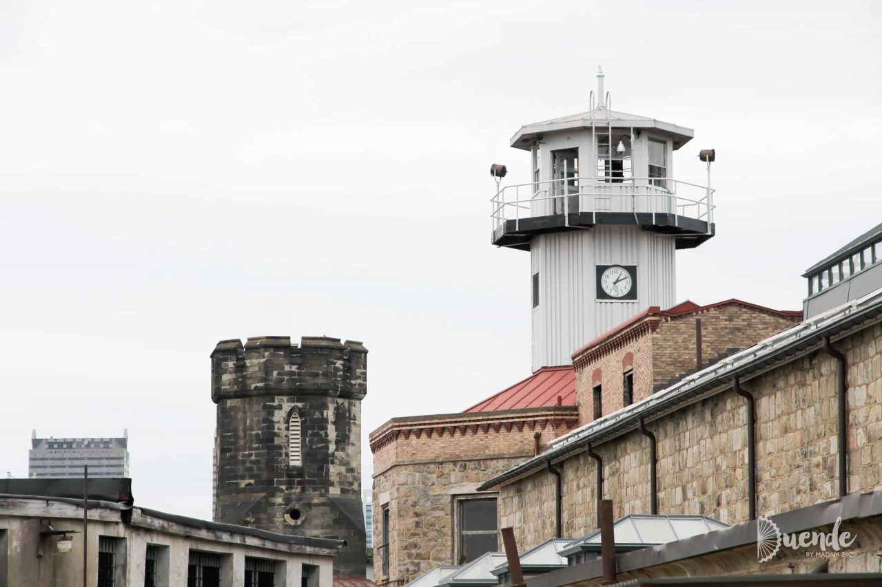 The old and the older - watchtowers at Eastern State Penitentiary