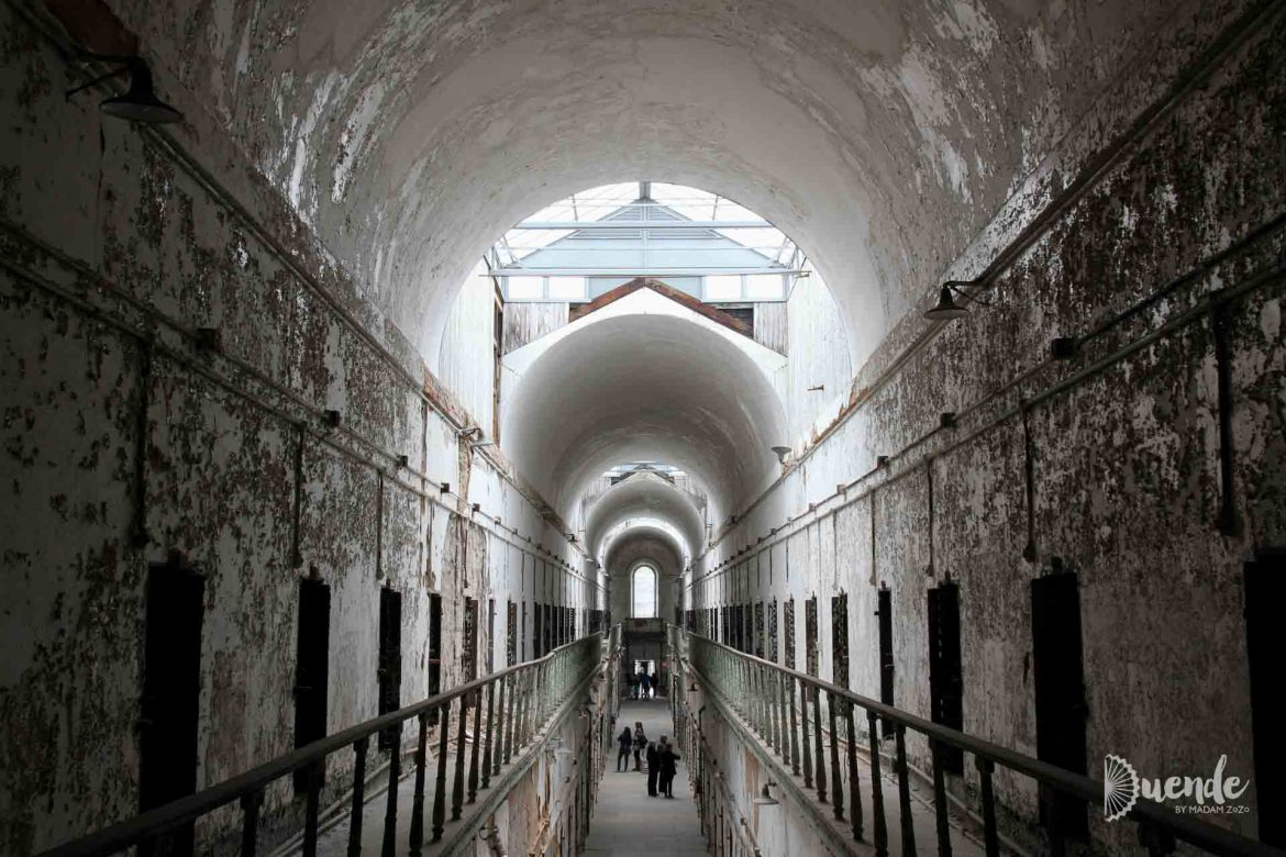 Round vaulted hallways of Eastern State Penitentiary