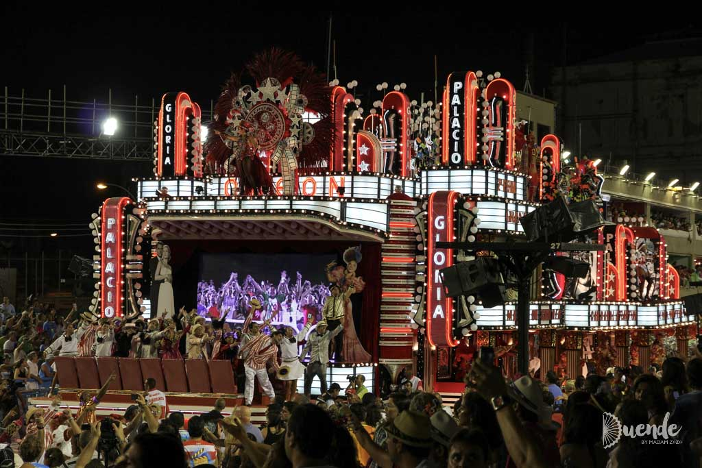 Classic film themed float - Rio Carnival 2011