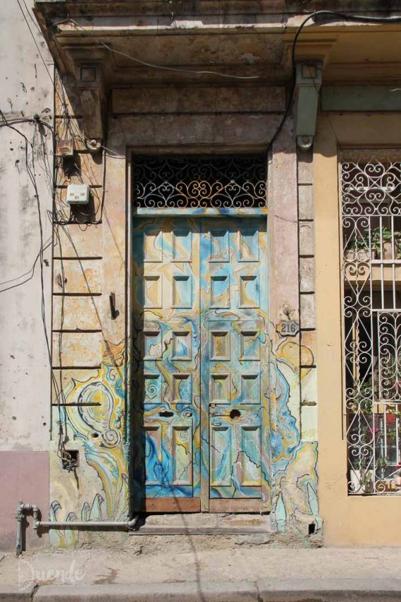 Cuba's diversely beautiful architecture expressed through images of doors   Duende by Madam ZoZo