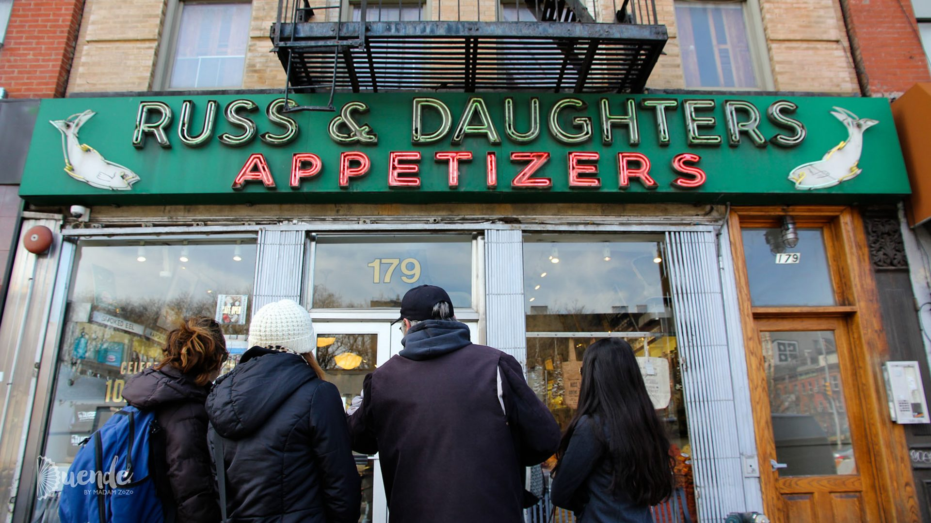 Russ and Daughters, NYC | Duende by Madam ZoZo