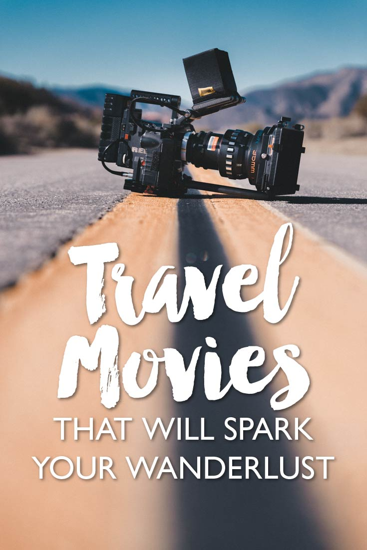 Twenty travel movies that will inspire you to travel, if not through their globetrotting stories, then by their amazing scenery.