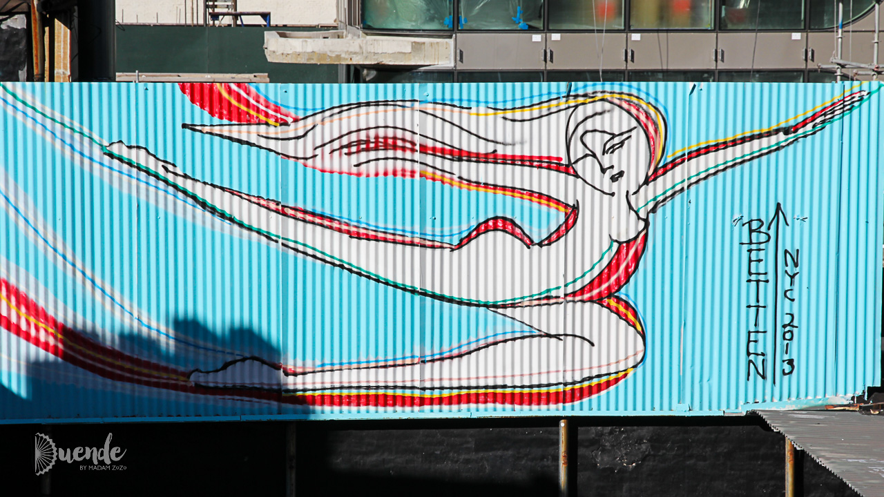 Jordan Betten | Art on the Street - NYC II | Duende by Madam ZoZo