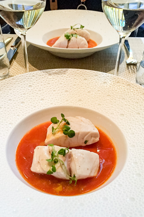 Photo of lunch at Le Bernadin