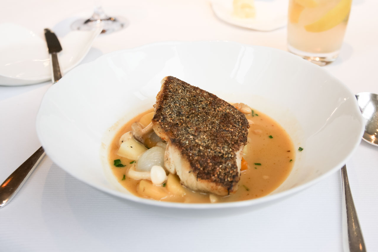 Sea Bass - Jean Georges, NYC