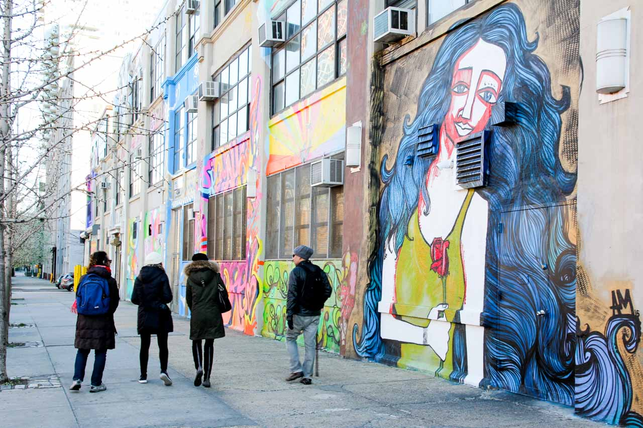 Discovering Queens street art on a guided walking tour