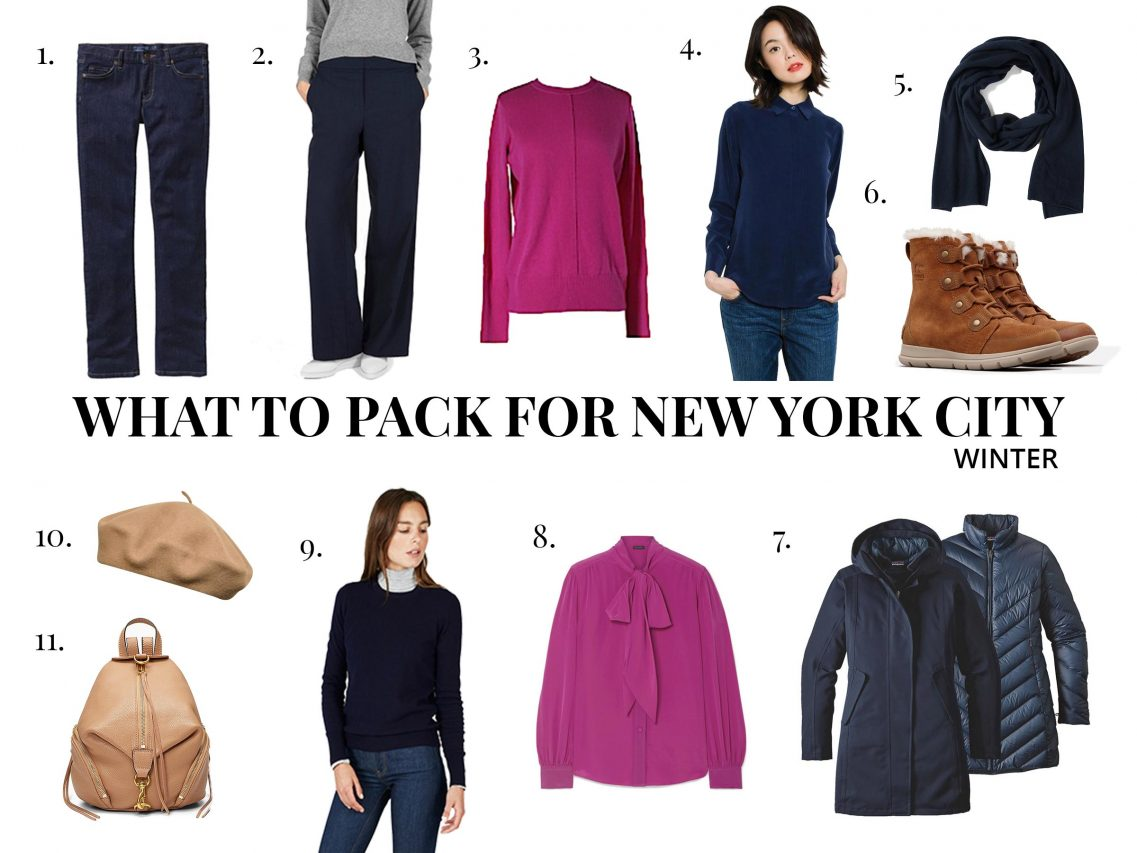 What to Pack for New York City in Winter - December, January, February