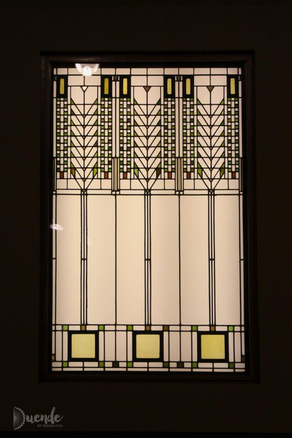 Tree of Life Window - Wright | Highlights from the Art Institute of Chicago | Duende by Madam ZoZo