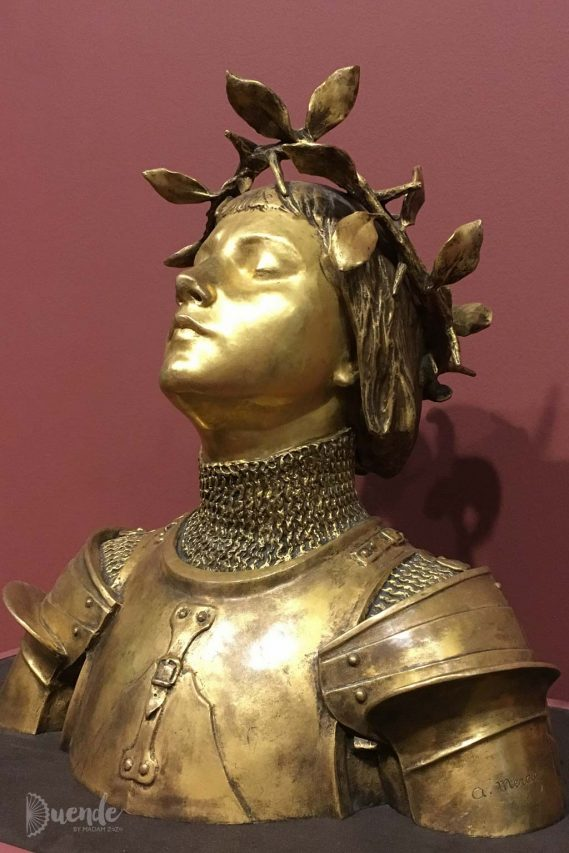 Jeanne d'Arc - Mercié | Highlights from the Art Institute of Chicago | Duende by Madam ZoZo