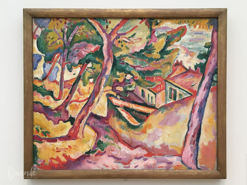 Landscape at L'Estaque - Braque | Highlights from the Art Institute of Chicago | Duende by Madam ZoZo