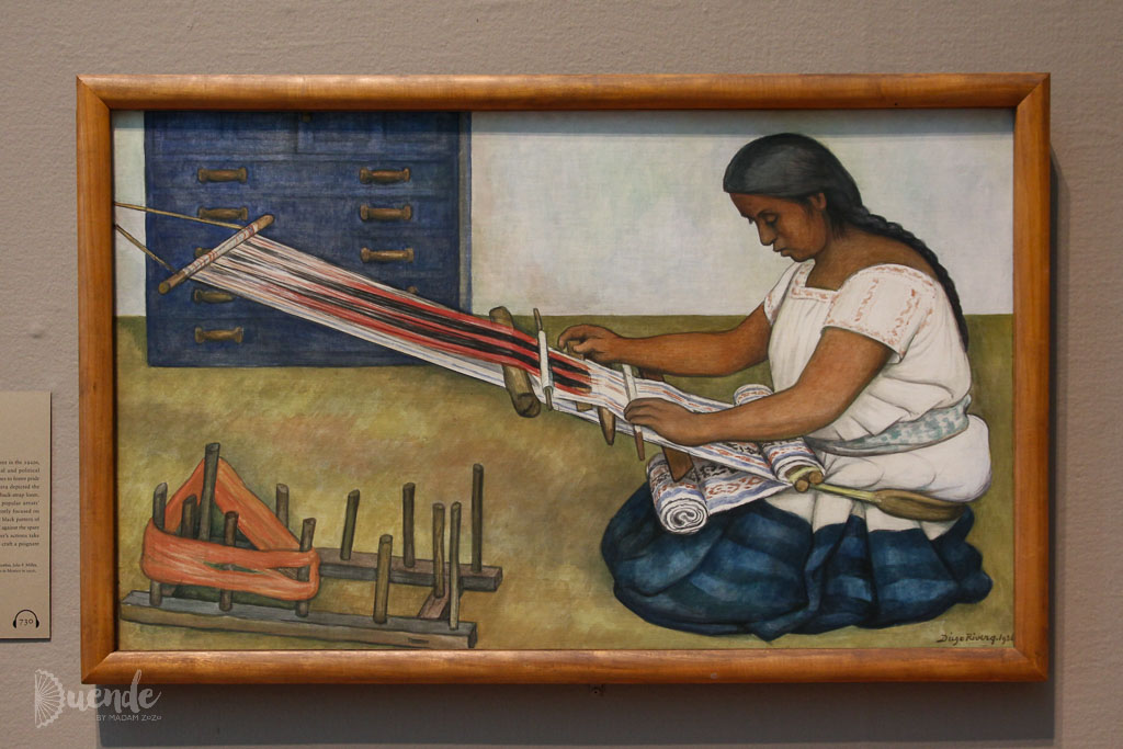 The Weaver - Rivera | Highlights from the Art Institute of Chicago | Duende by Madam ZoZo