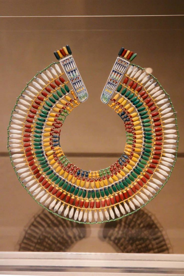 Broad collar from Egypt (ca. 1353–1336 B.C.)
