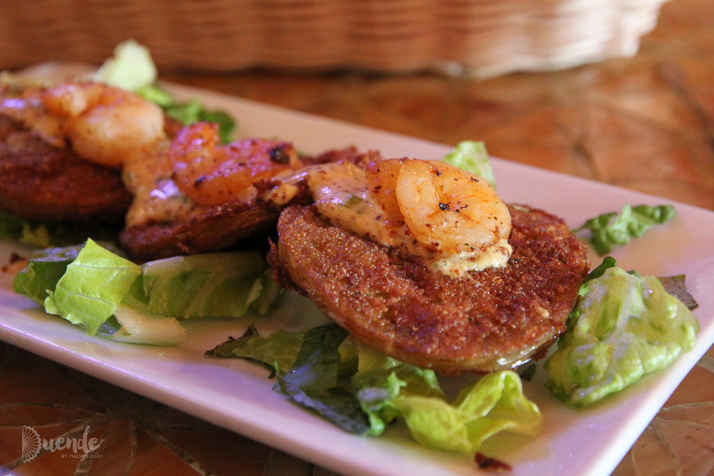 Fried Green Tomatoes | Duende by Madam ZoZo