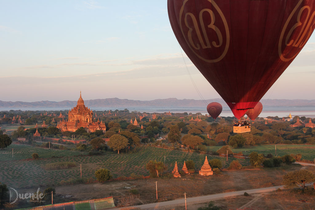 Hot Air Ballooning Over Bagan, Myanmar | Duende by Madam ZoZo