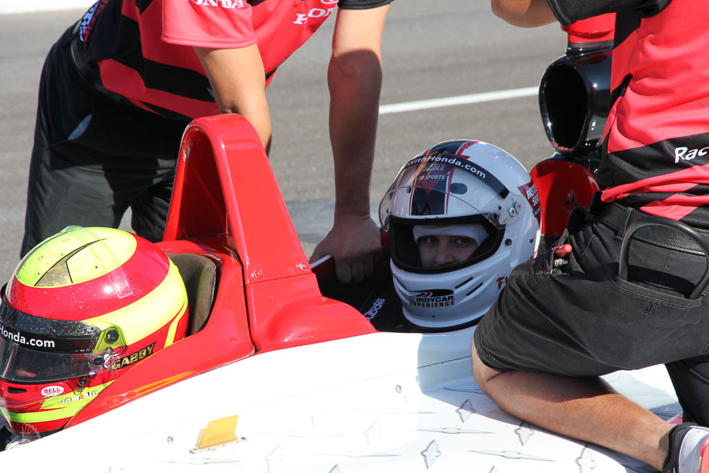 Indy car ride with a professional driver on the Indy500 track