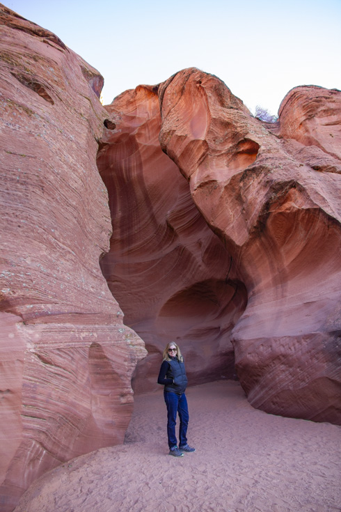 The entrance of Upper Antelope Canyon
