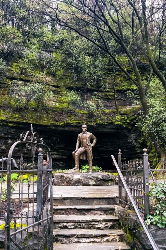 Jack Daniels Statue and Spring