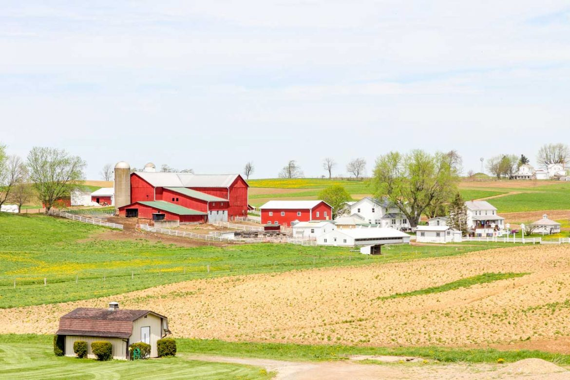 Bucolic views of Amish Country, Ohio