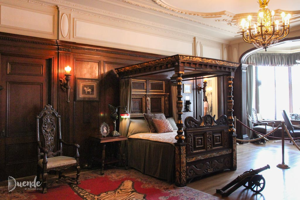 Sir Pellatt's bedroom