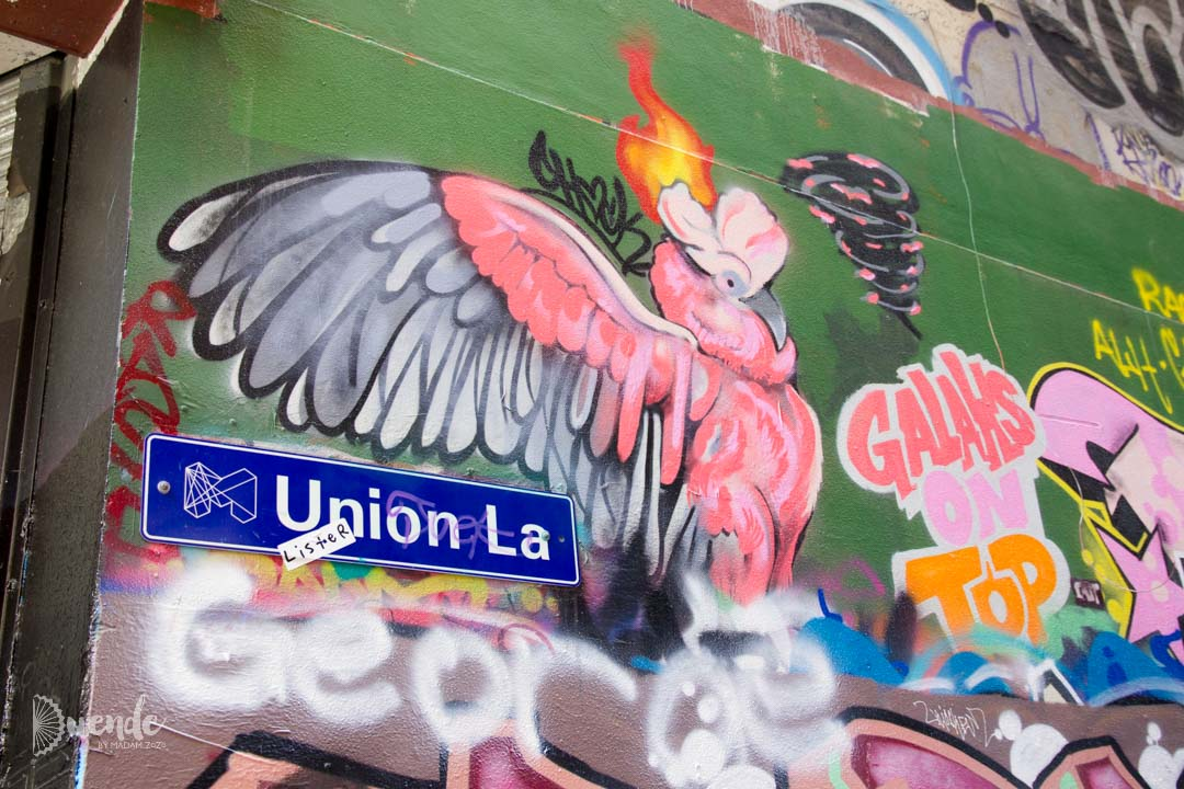 Union lane, Melbourne