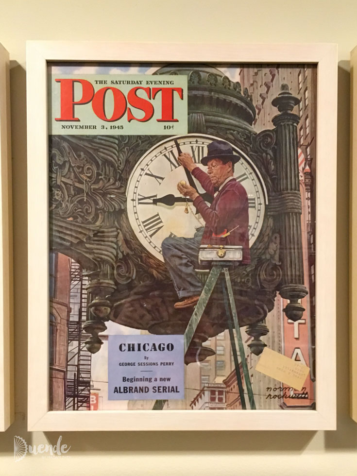 The Saturday Evening Post cover, November 3, 1945