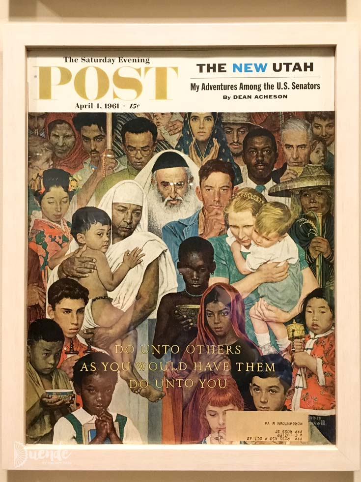 Norman Rockwell cover of the Saturday Evening Post