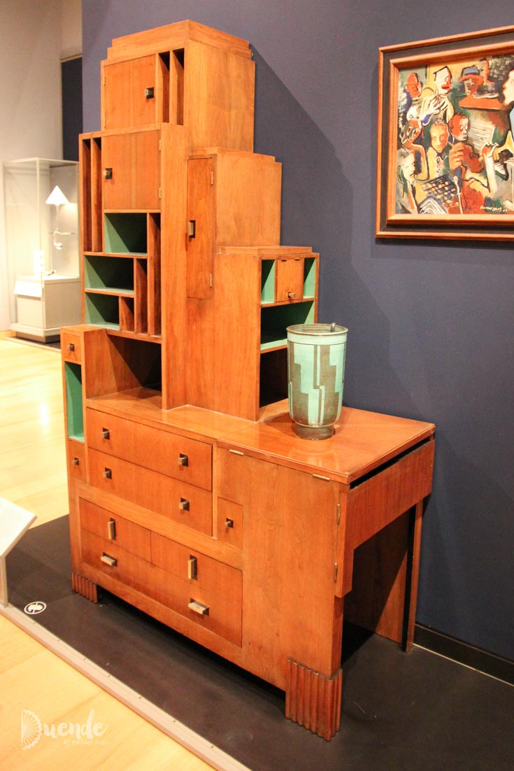 Skyscraper Desk and Bookcase designed by Paul Theodore Frankl, about 1928