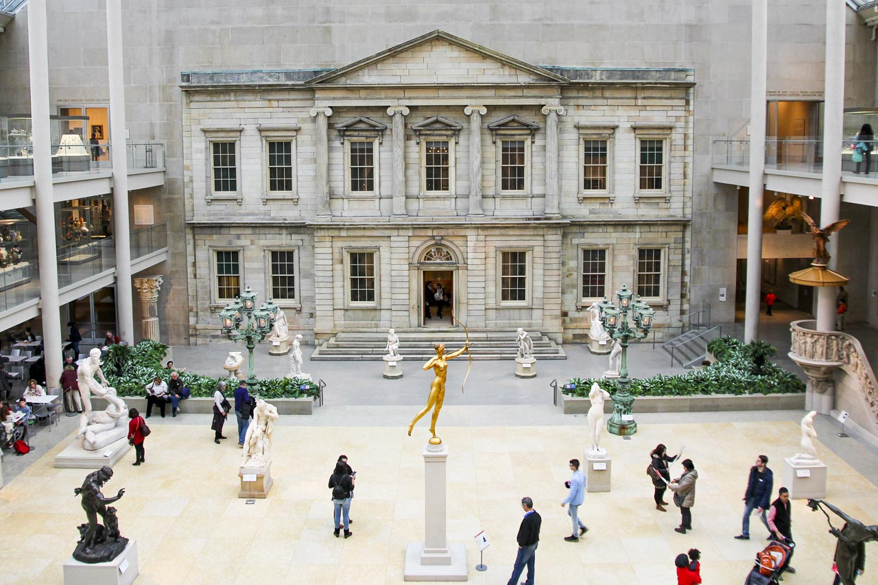 The Charles Engelhard Court at The Met
