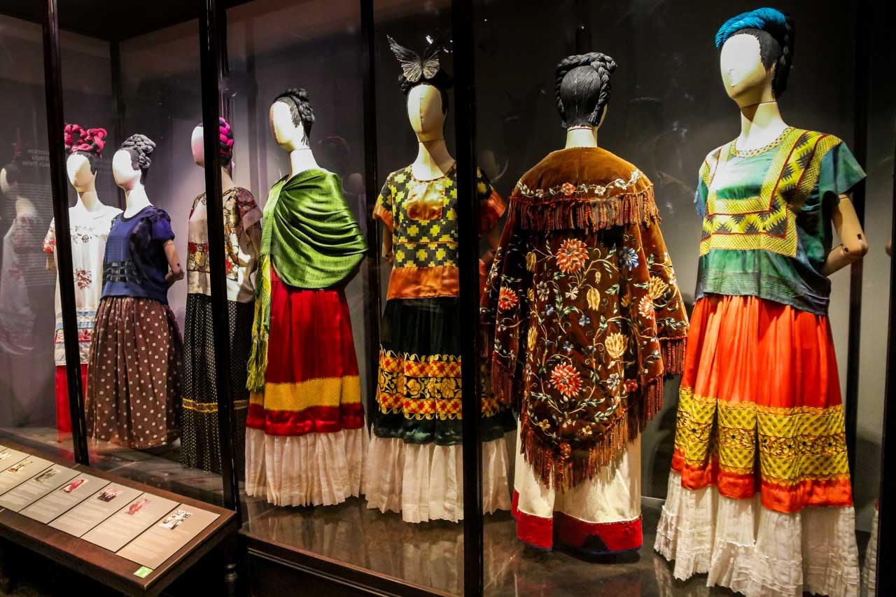 Exhibit: Appearances can be Deceiving: The Dresses of Frida Kahlo
