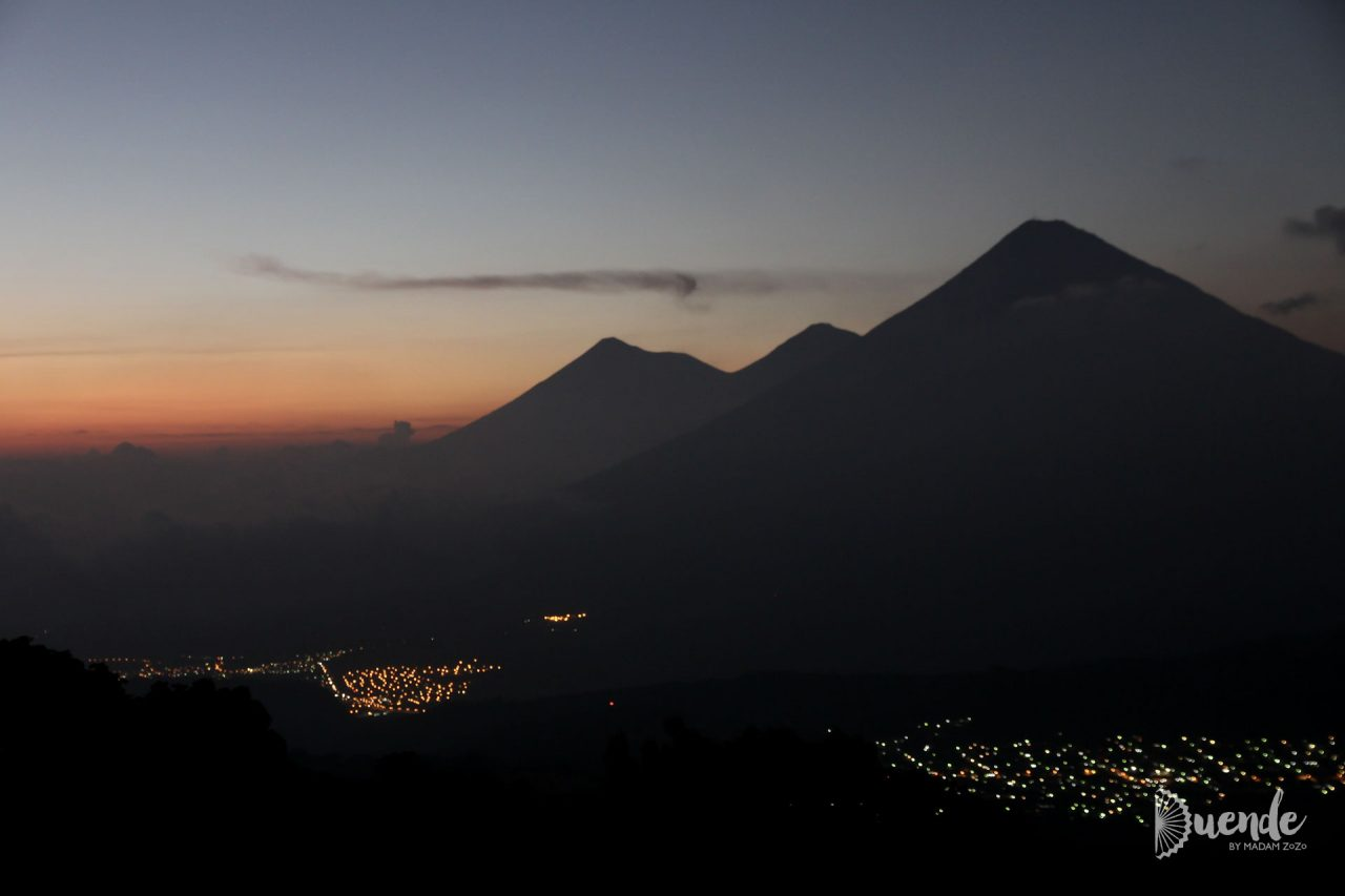 Volcanoes - Fuego, Asatenango and Agua
