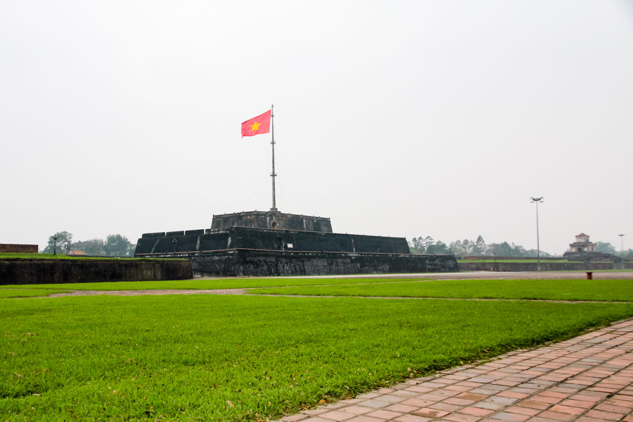 Flag Tower at the Imperial Citadel, Hue, Vietnam