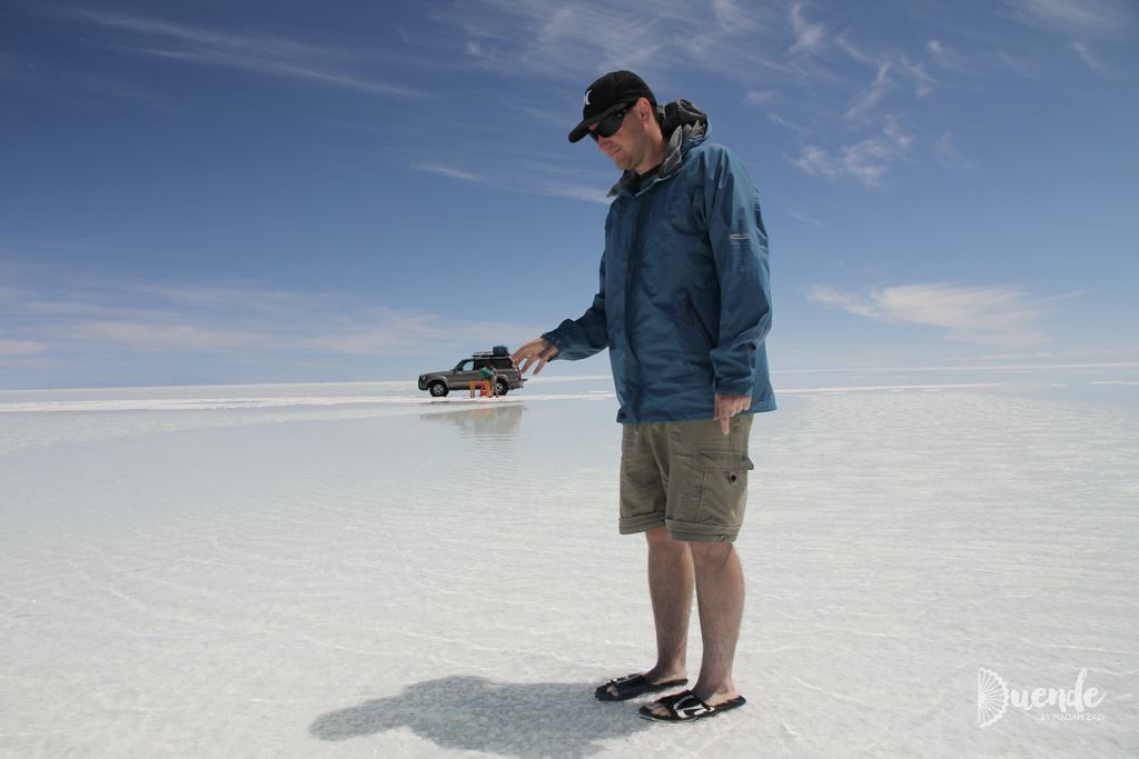 Salt flat photo fun