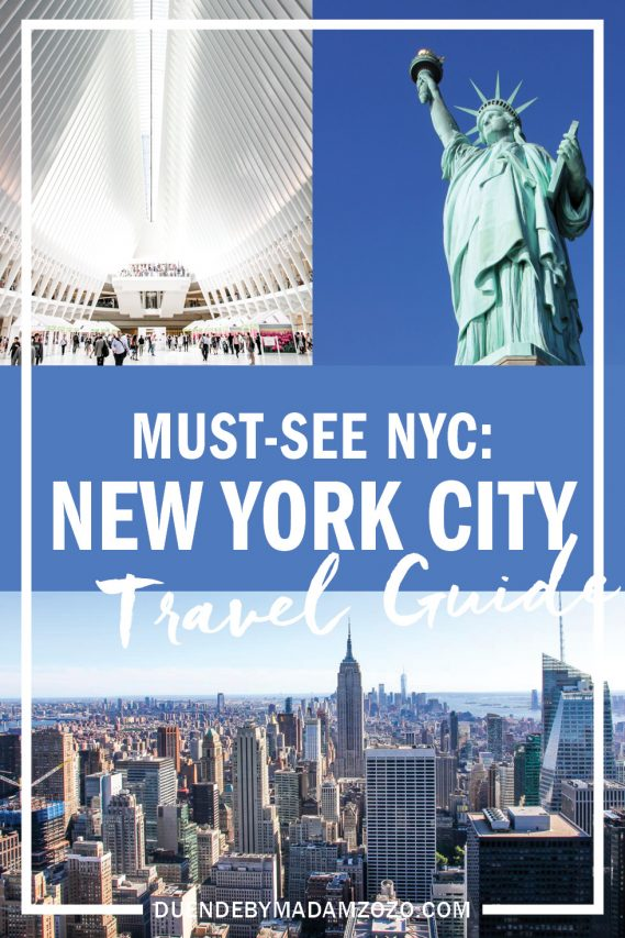 How to create an itinerary to fulfil your NYC bucket list! The top things to do in New York City when visiting for the first time.