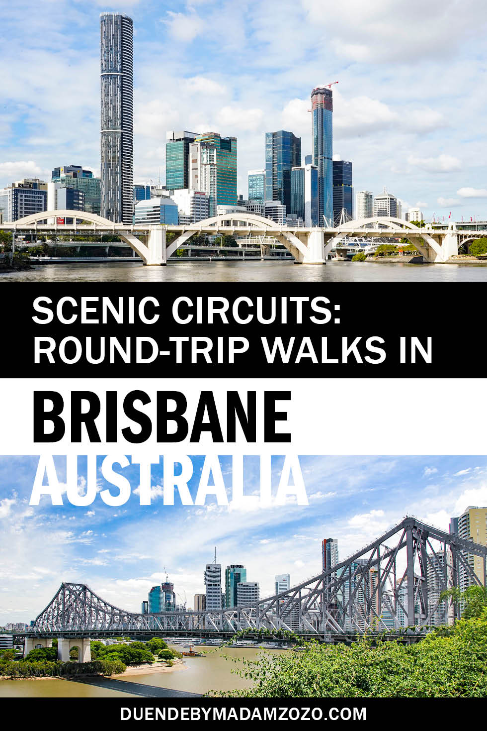 Round-Trip Walks in Brisbane