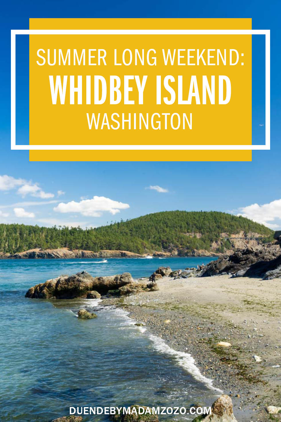 Whidbey Island Long Weekend from Seattle